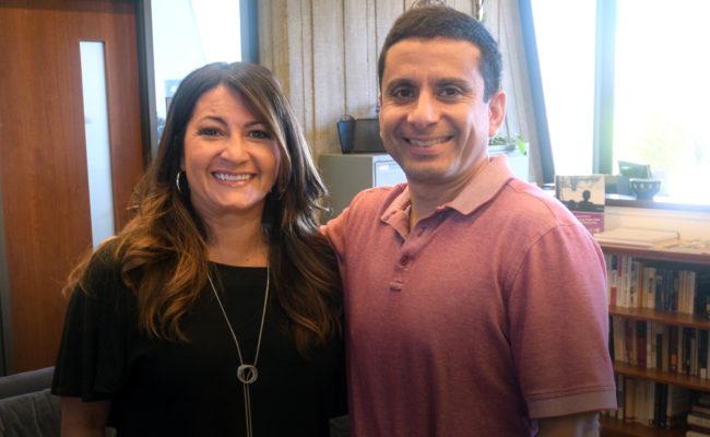 Rosalie Torres and Esteban Cardemil