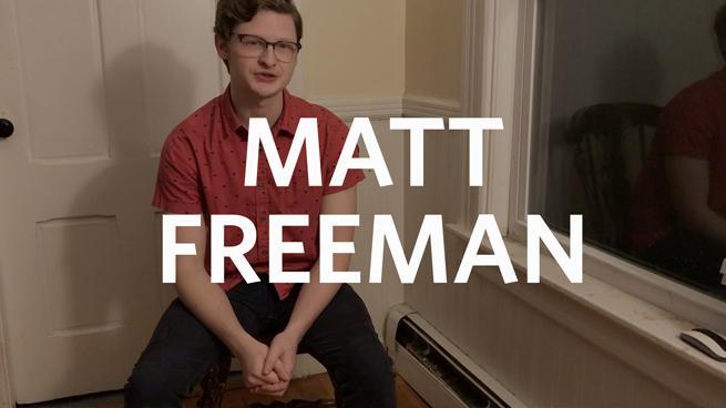 Matt Freeman '20: 'Glass Menagerie' Monologue