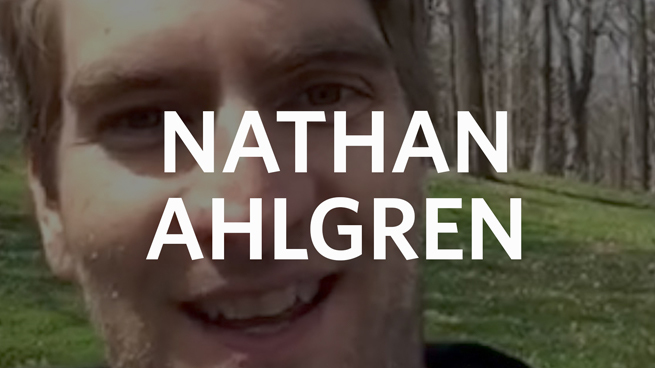 Professor Nathan Ahlgren: Spring Brings Hope