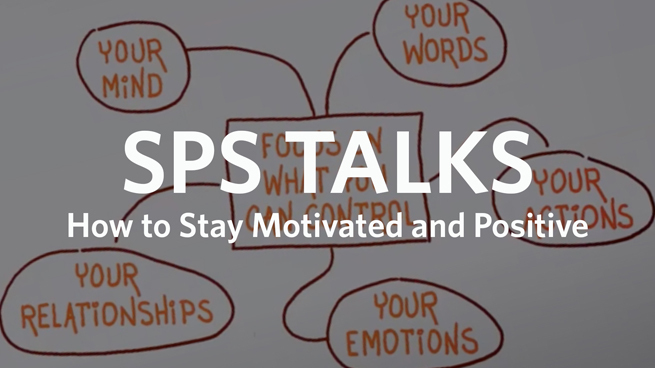 SPS Talks: How to Stay Motivated and Positive in Turbulent Times (Recap)