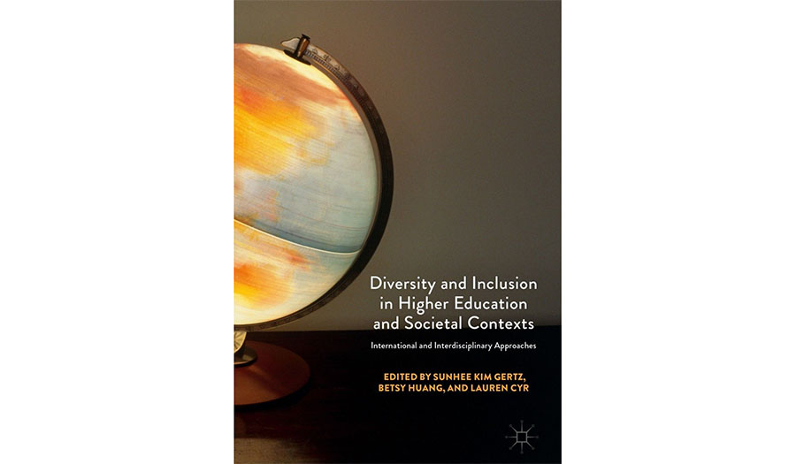 book jacket for Diversity-and-Inclusion-in-Higher-Education and Societal Contexts