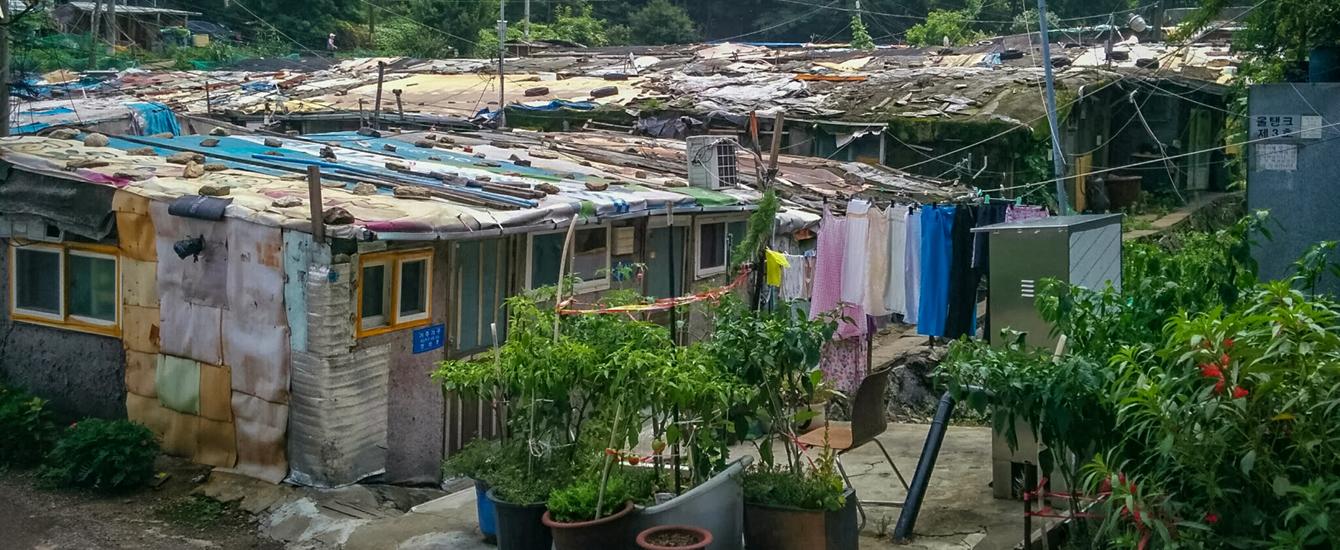 urgan development in poor district