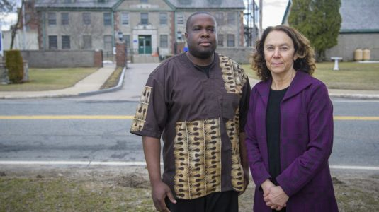 Shelly Tenenbaum and inmate