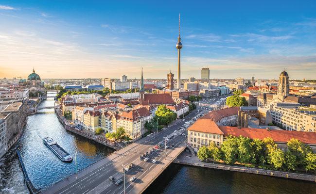 Aerial photo of Berlin, Germany