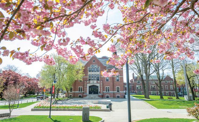 Clark University's Atwood Hall