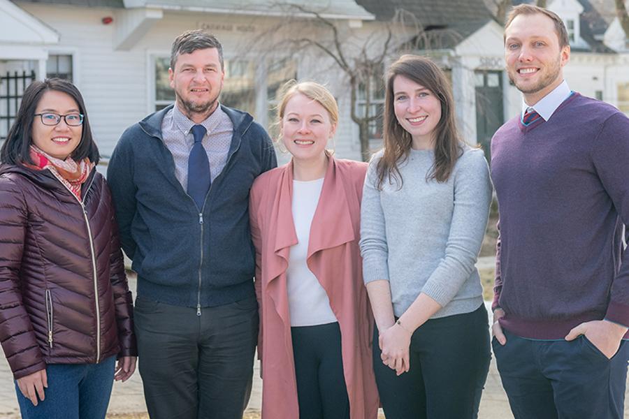 graduate admissions team