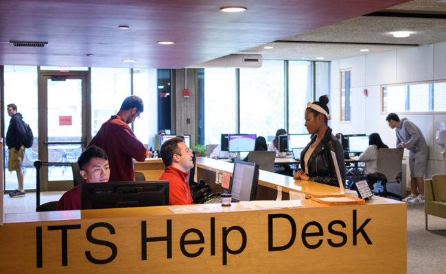ITS Help Desk Center