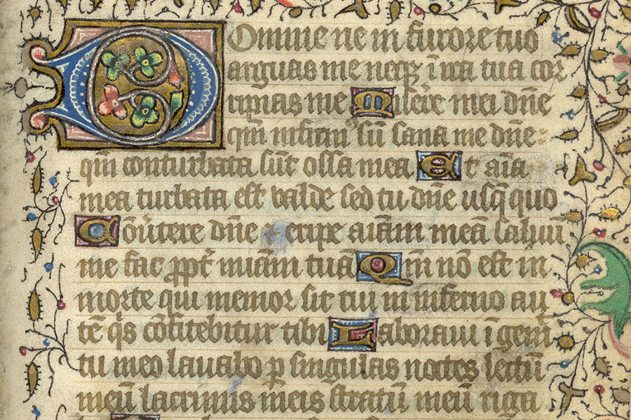 Clark University book of hours