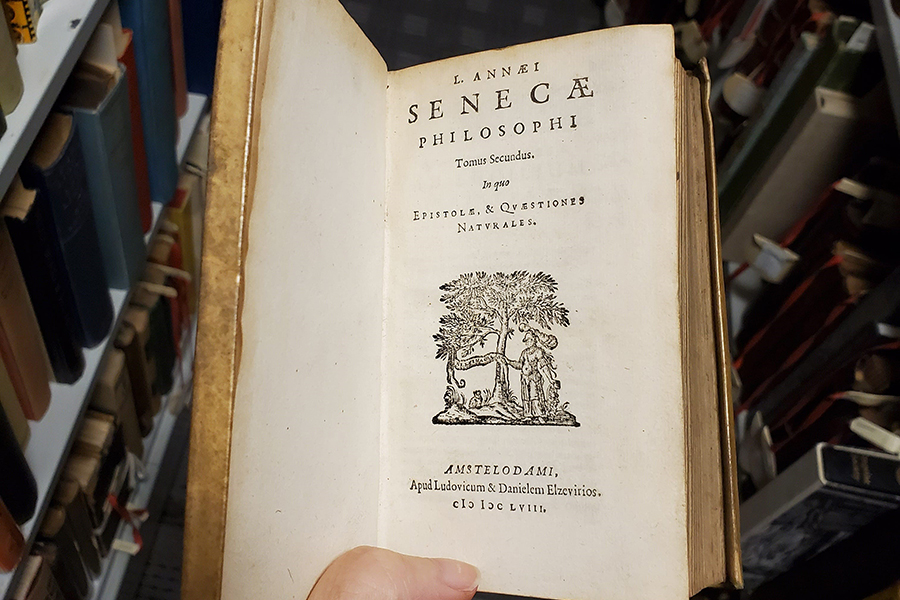 Seneca book of philosophy