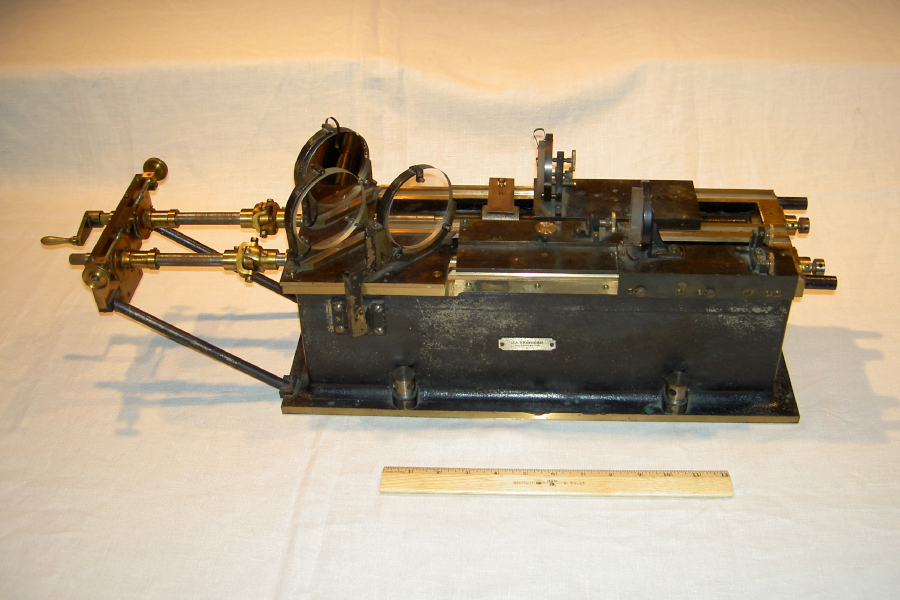 Albert A. Michelson's interferometer