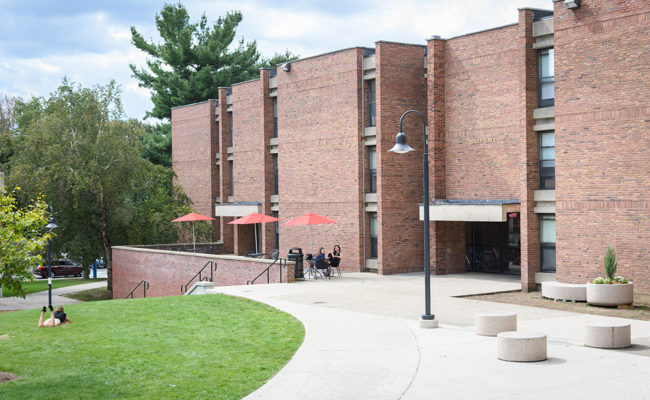 Dana Hall for first-year students