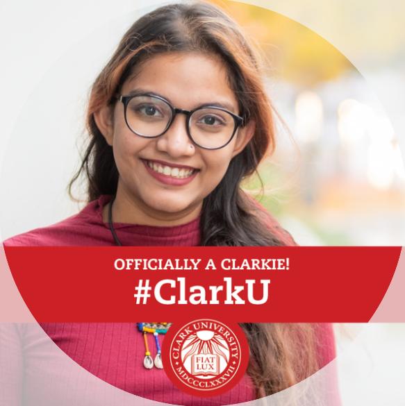 Officially a Clarkie Facebook frame
