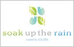 soak up the rain logo