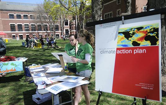 climate change booth