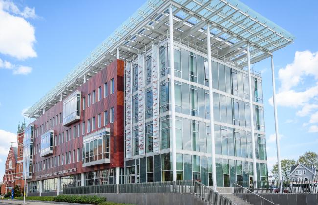 Clark University ASEC building
