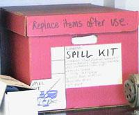 spill kit box