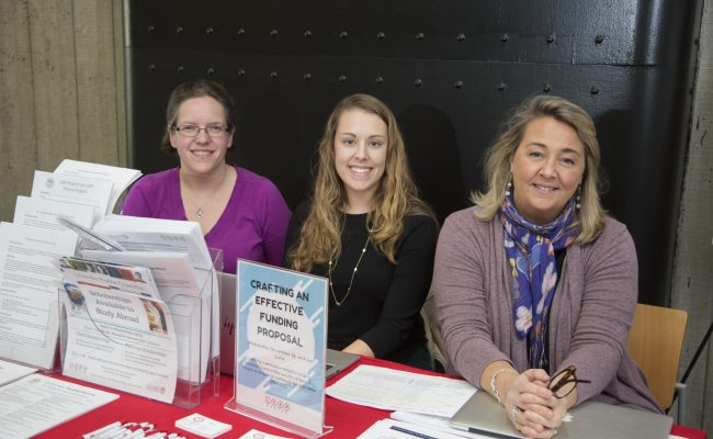 career table with employees