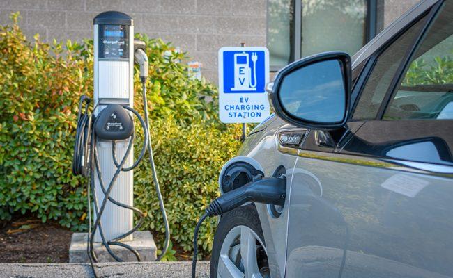 car recharging