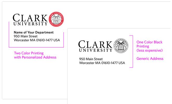 print envelop example