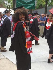 Daysha Graduating