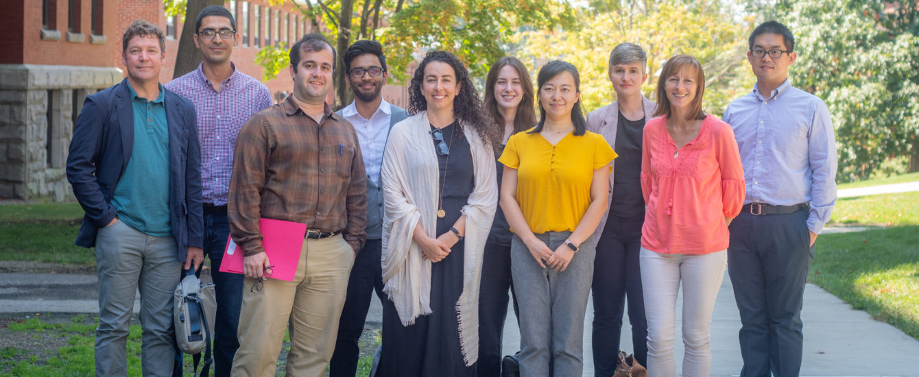 Picture of new faculty starting in Fall 2019.