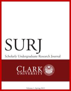 SURJ Volume 1 cover
