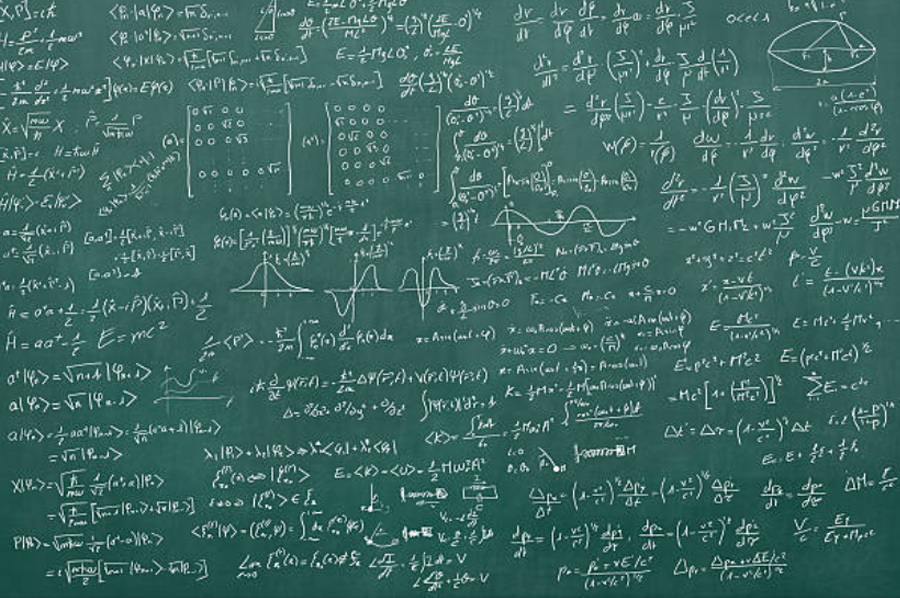 chaulk board math