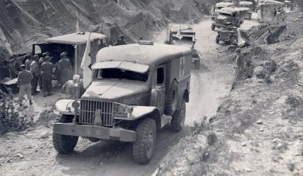 World War 2 ambulance