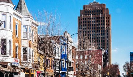 Downtown Allentown, PA