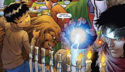 Jewish comic book hero