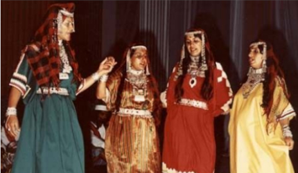 Group of four Jewish women
