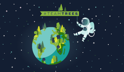 TeamTrees graphic
