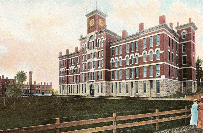 historical photo of Jonas Building