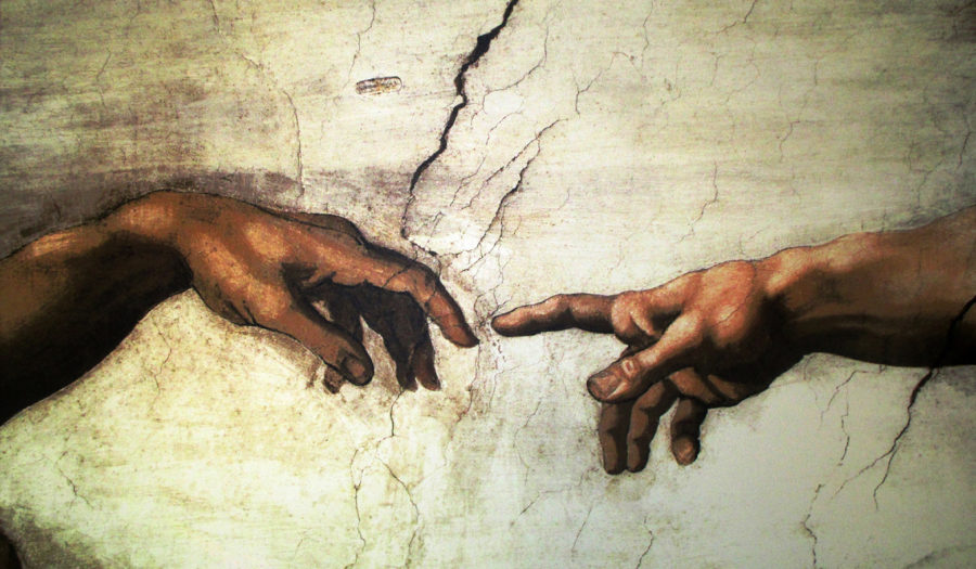Michelangelo Sistine Chapel art-painting