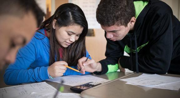 Teaching high school students