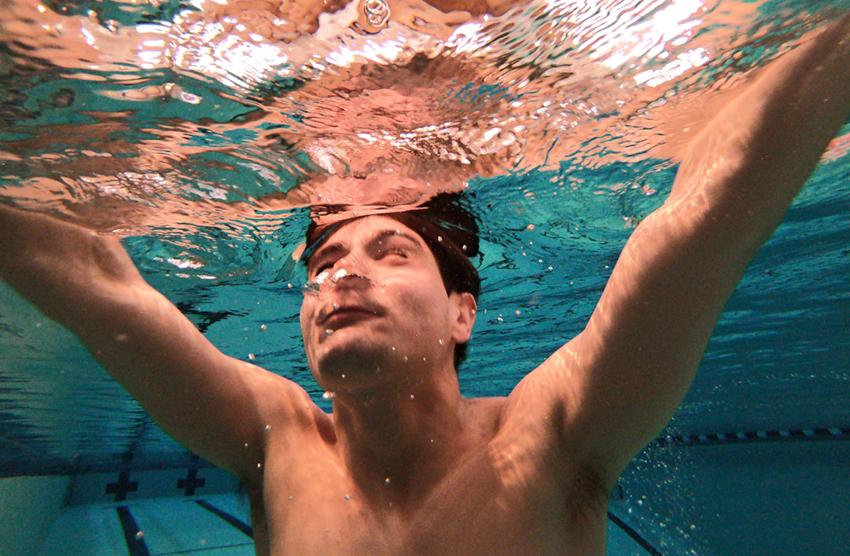 Steven diving