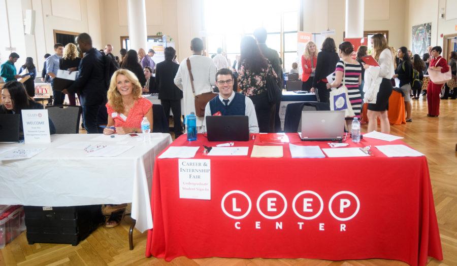 conference table setti