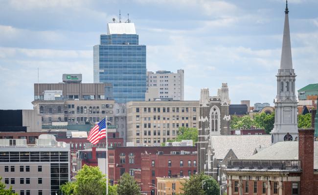 city's sky line
