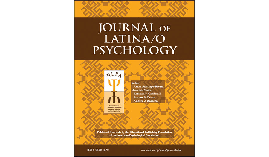 Special Issue: Evidence-Based Treatments for Latinas/os, Volume 5, Number 4, Journal of Latina/o Psychology