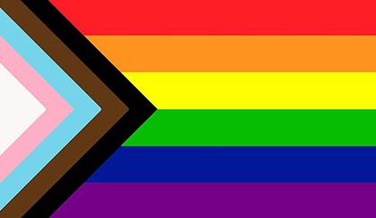 new gay pride flag