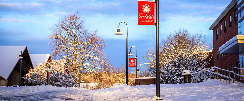 Snowy Clark campus
