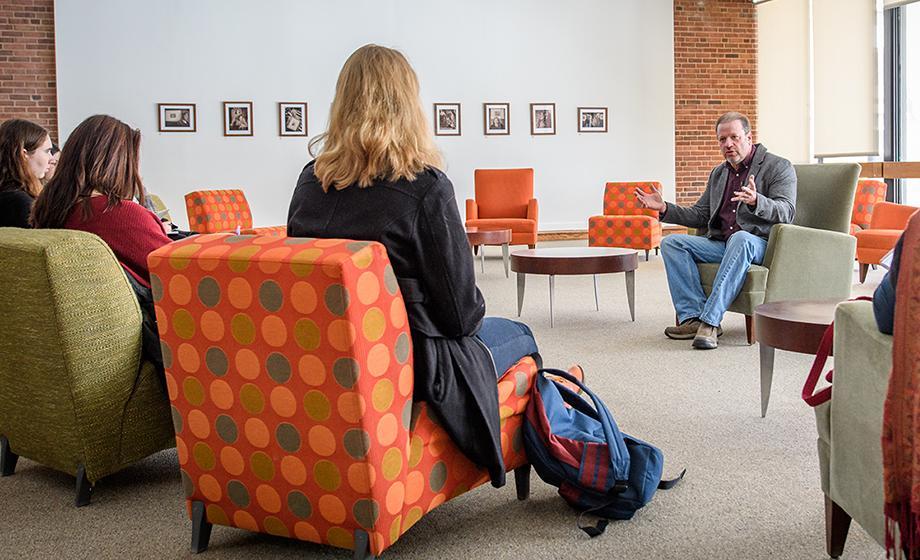 John Morano talks to panel