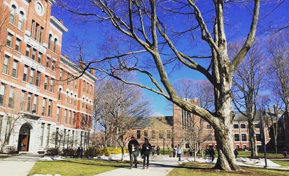 Clark University's square