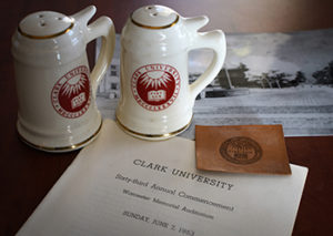 Kevin Wesley's Clark University collectibles