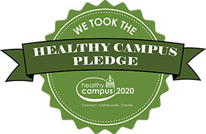 Health campus pledge logo