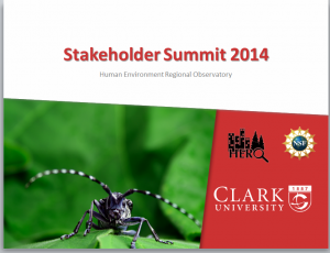 Clark University Stakeholder Summit 2014