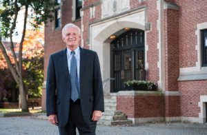 John O'Brien, Distinguished Professor of Higher Education at the Mosakowski Institute, has spearheaded the creation of the Academic Health Department