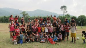 Clark University student-athletes led sports development activities with dozens of children during the Clark Athletics Service Learning Trip (CAST) to Guatemala in January.