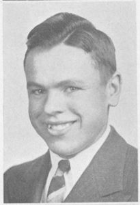 Albert B. Southwick's Pasticcio yearbook photo