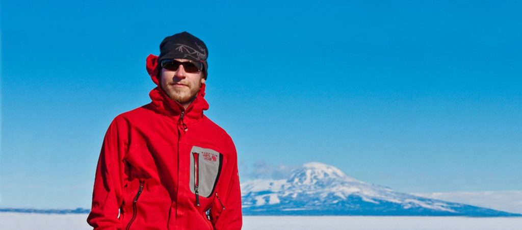 Clark University Antarctic Researcher Luke Trusel